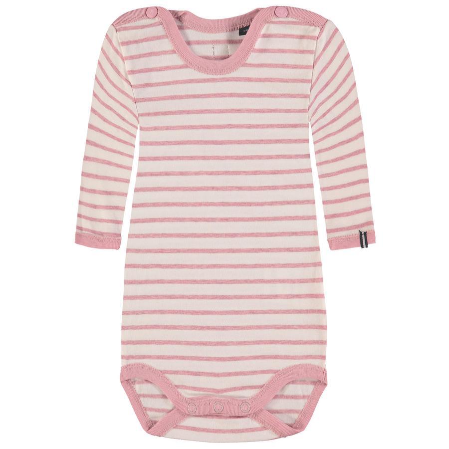 Marc O'Polo Girls Body, rosa gestreift