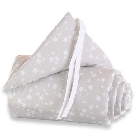 babybay® hníízdečko Pique Original Hvězdičky bílé 144 x 25 cm
