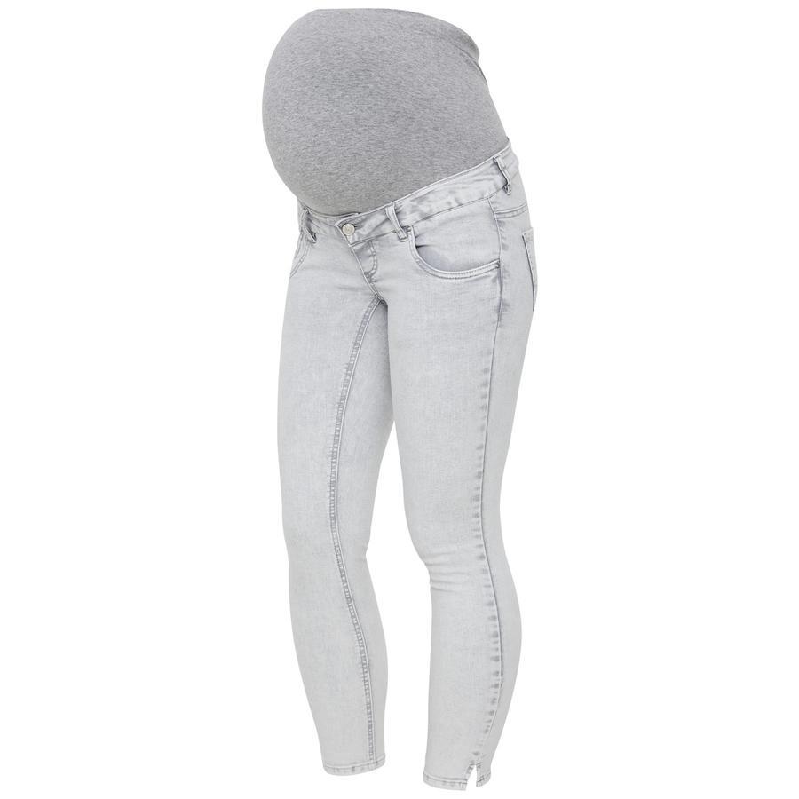 Mama Licious Jeans MLDETROIT Light Grey Denim