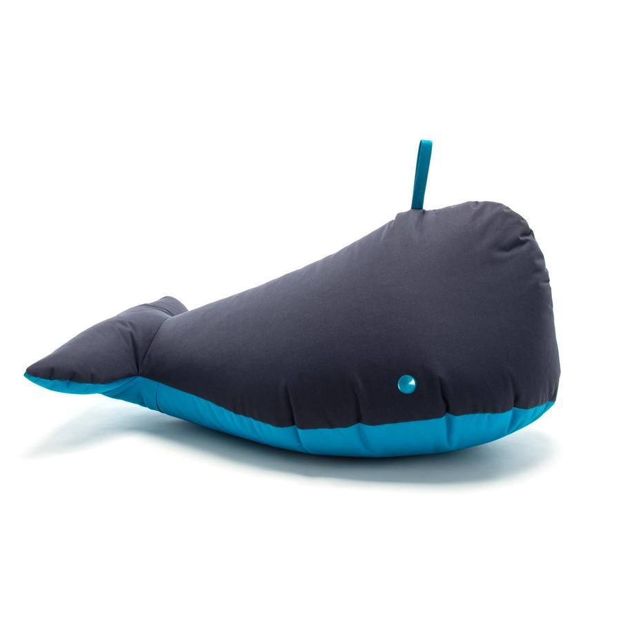 SITTING BULL® Happy Zoo Sitzsack Ben, schwarz-blau