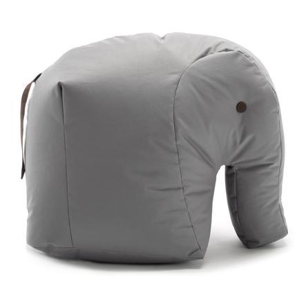 SITTING BULL® Happy Zoo pouf Carl, grigio