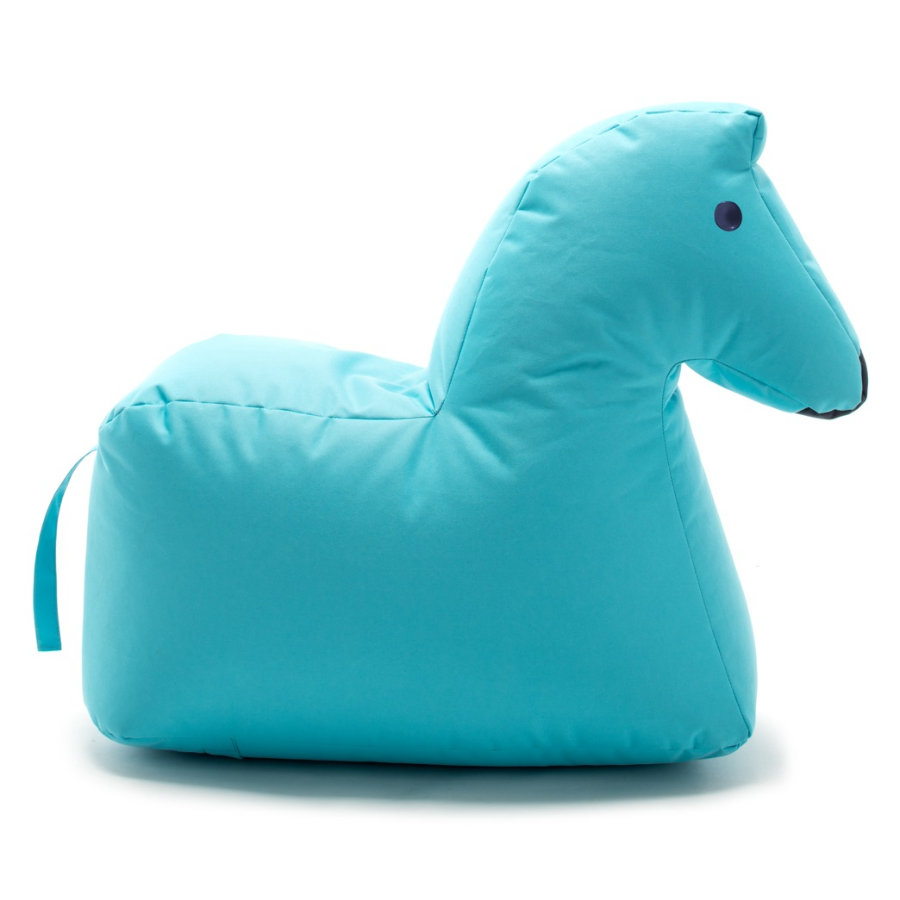 SITTING BULL® Pouf enfant Happy Zoo Lotte, bleu