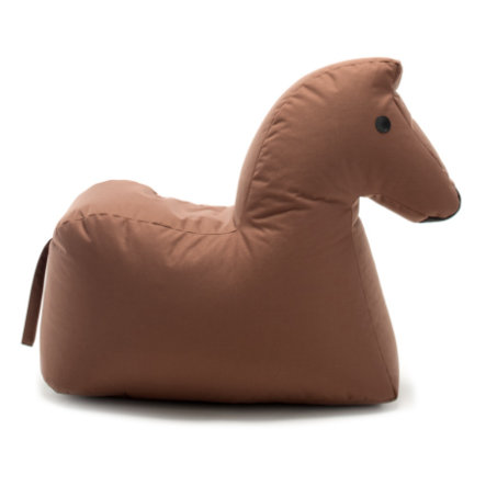 SITTING BULL® Happy Zoo pouf Lotte, marrone