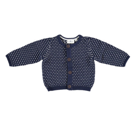 TOM TAILOR Boys Strickjacke dark blue