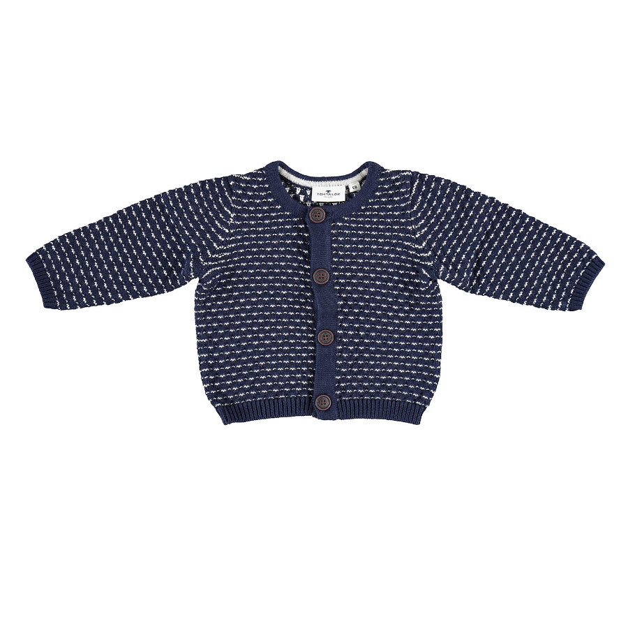 TOM TAILOR Boys cardigan blu scuro