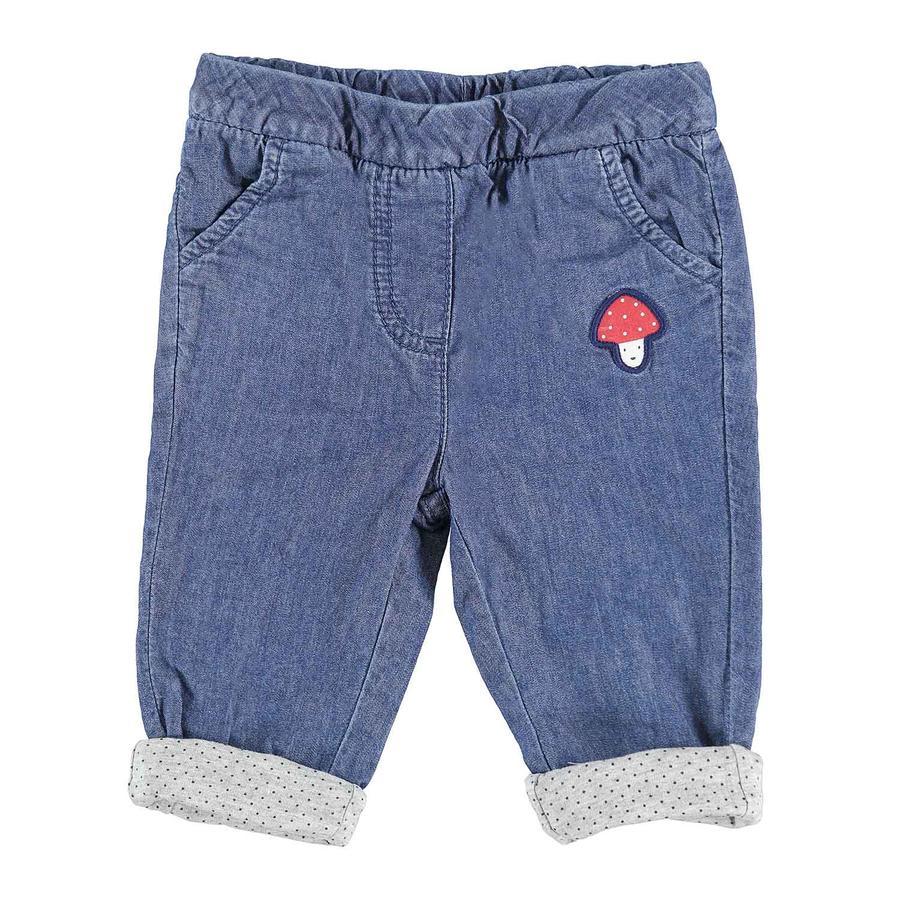 TOM TAILOR Girl s Jeans z aplikacją grzybkową