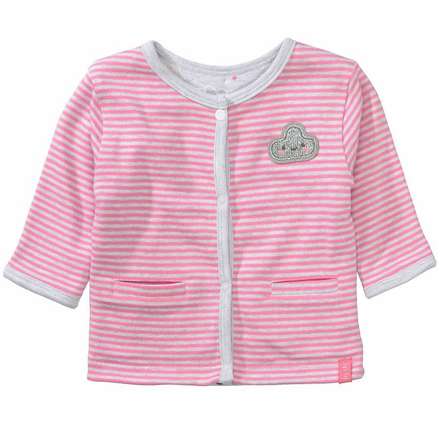STACCATO Girl s omkeerbare jasje glanzend roze structuur