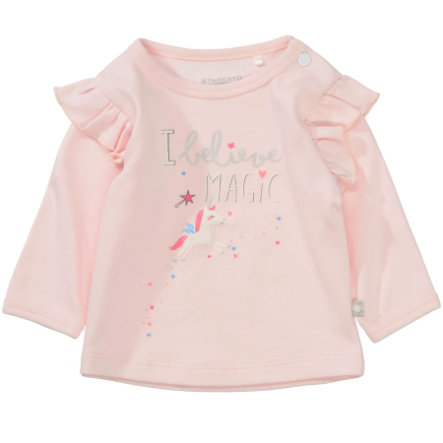 STACCATO Girls Langarmshirt light rose