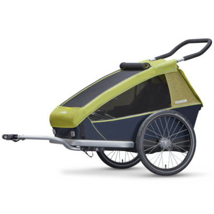 CROOZER Cykelvagn Kid for 2 Lemon green