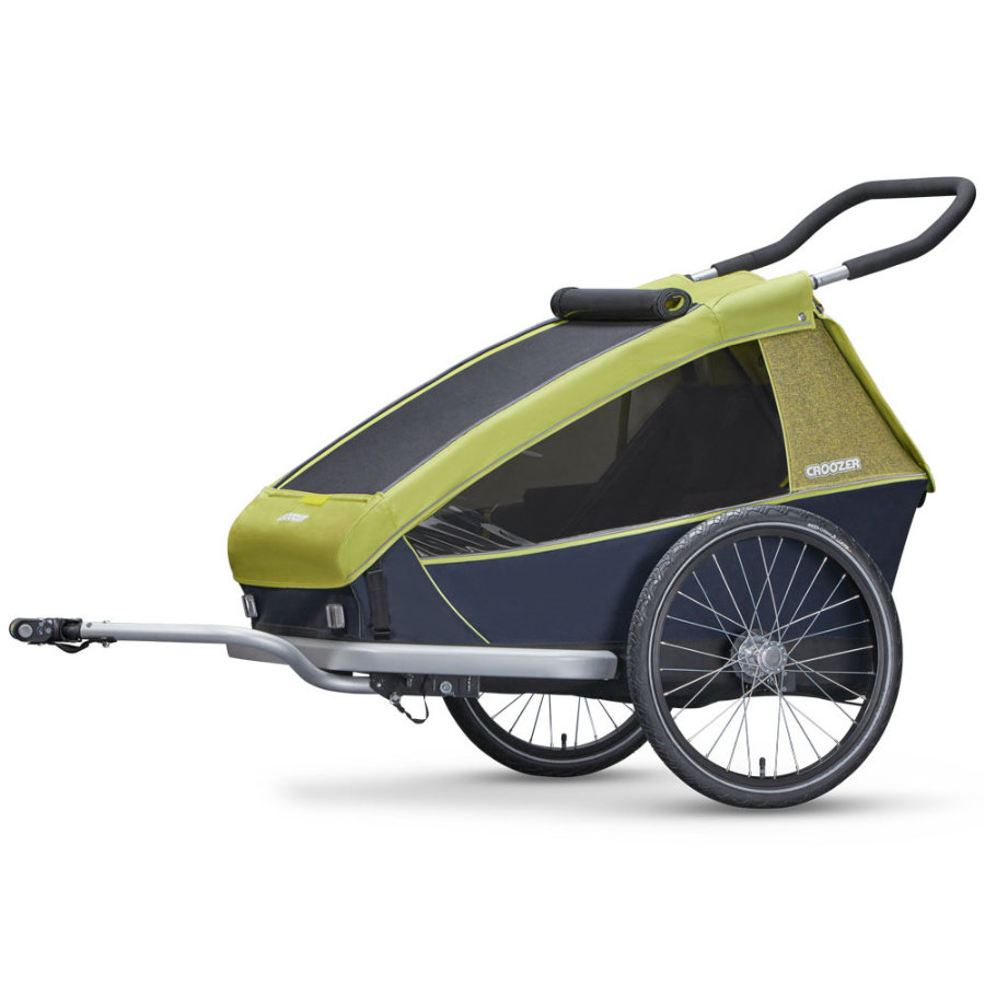 Croozer Kid for 2 Lemon green