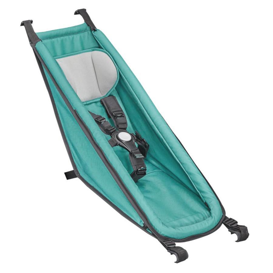 Croozer Dětské sedátko pro vozíky Kid a Kid Plus Arctic green