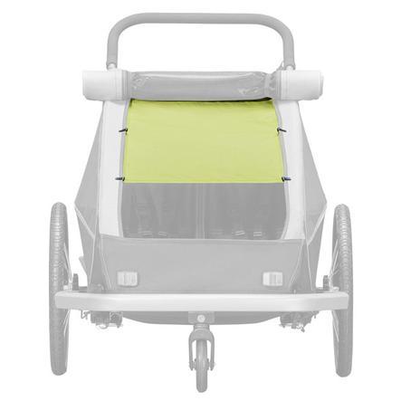 CROOZER Sonnenschutz Lemon green für Zweisitzer