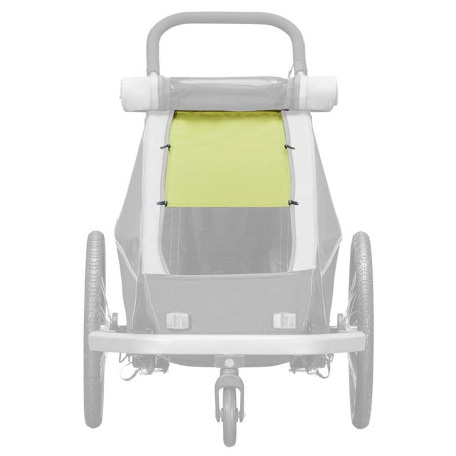 CROOZER zonnekap Lemon green voor eenzitters