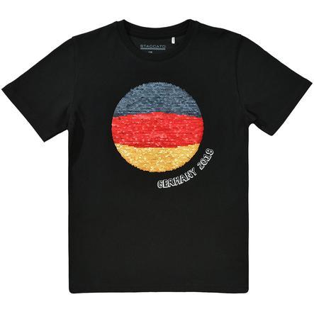 STACCATO Boys T-Shirt schwarz