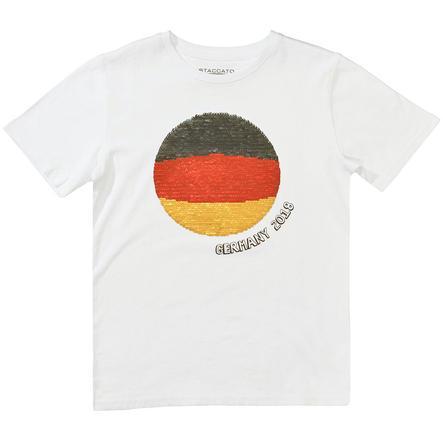 STACCATO T-Shirt vit