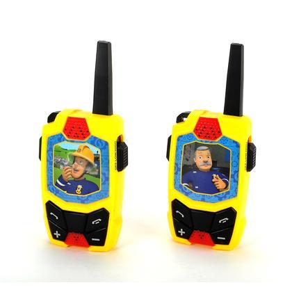 DICKIE Toys Brandweerman Sam Walkie Talkie