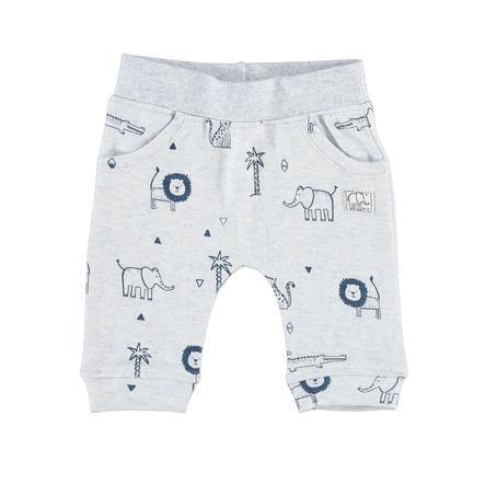 STACCATO Boys Spodnie w jasnoniebieskim wzorze.