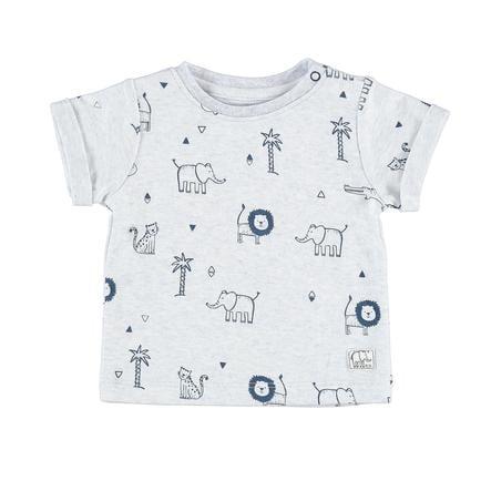 STACCATO Boys T-Shirt bleu clair à motifs