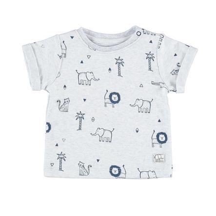 STACCATO Boys T-Shirt hellblau gemustert