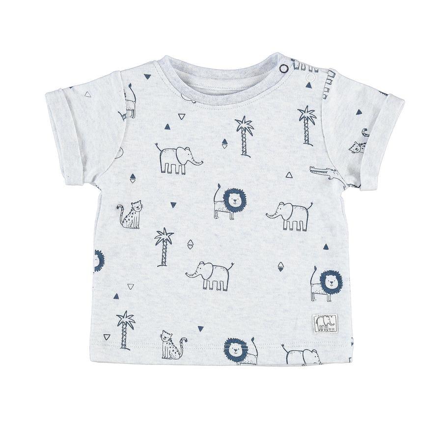 STACCATO Boys T-Shirt azul claro con estampado