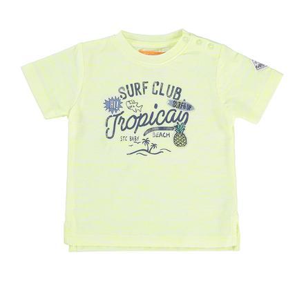 STACCATO Boys T-Shirt avec structure néon soleil