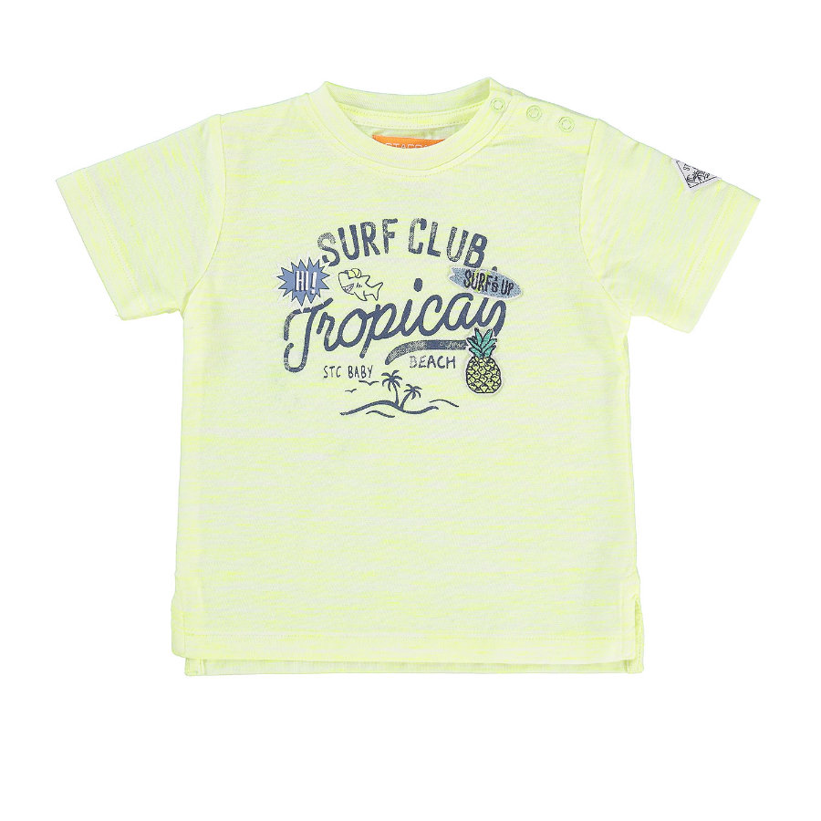 STACCATO Boys T-Shirt mit Struktur neon sun