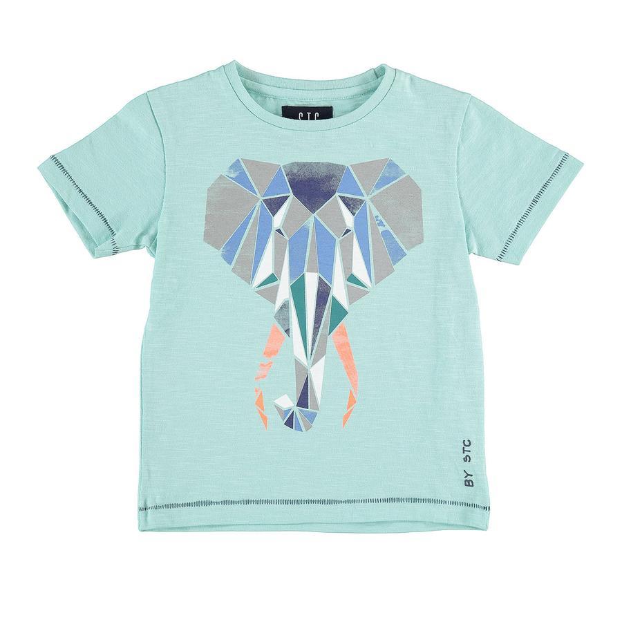 STACCATO Boyls T-Shirt Olifant aquagroen