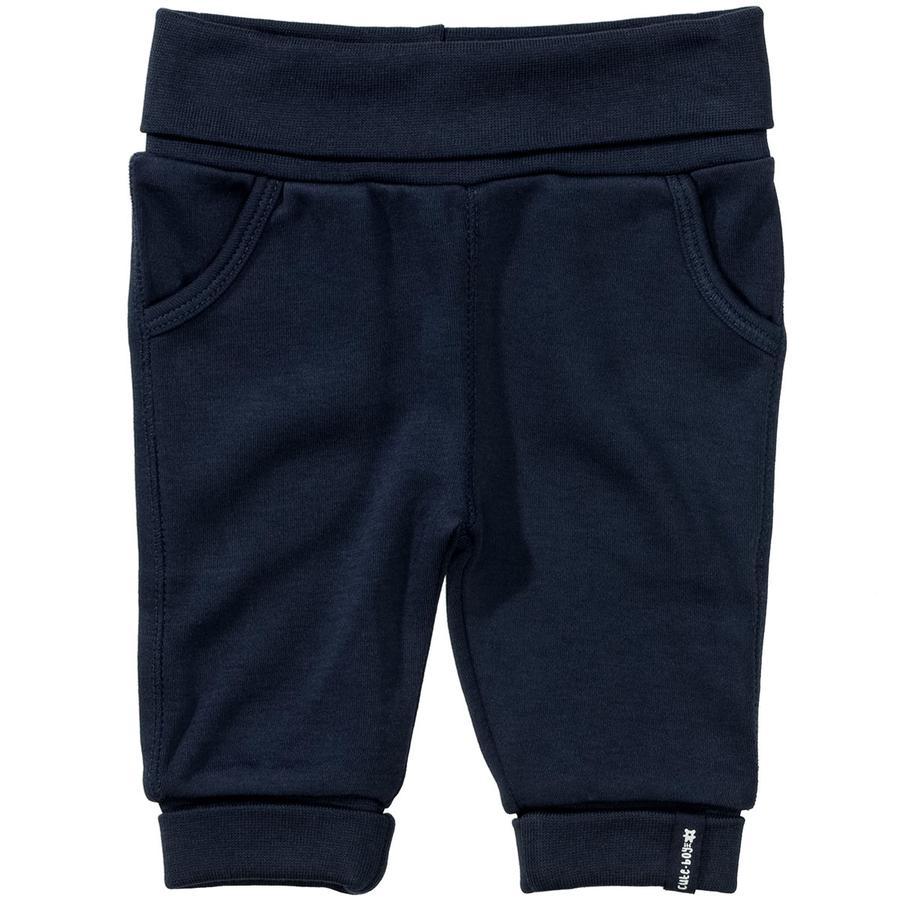 STACCATO Pantalon de survêtement marine foncé