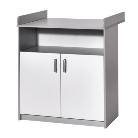 SCHARDT Commode à langer avec table CLASSIC GREY
