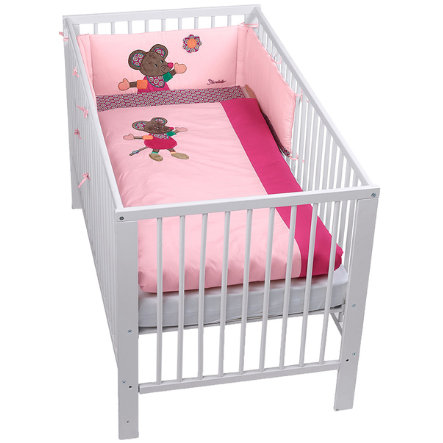 sterntaler bett set maus mabel baby. Black Bedroom Furniture Sets. Home Design Ideas