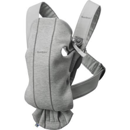 BABYBJÖRN Bärsele Mini ljusgrå 3D Jersey
