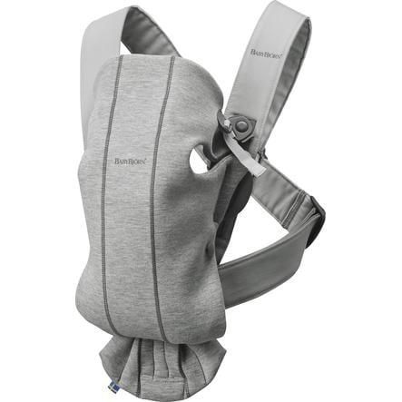 BABYBJÖRN Marsupio Mini grigio chiaro 3D Jersey