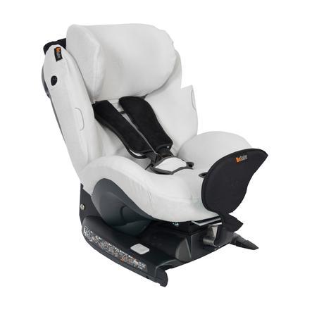 BeSafe Autokindersitzbezug aus Bambus für iZi Combi / iZi Kid / iZi Plus Glacier Grey - grau