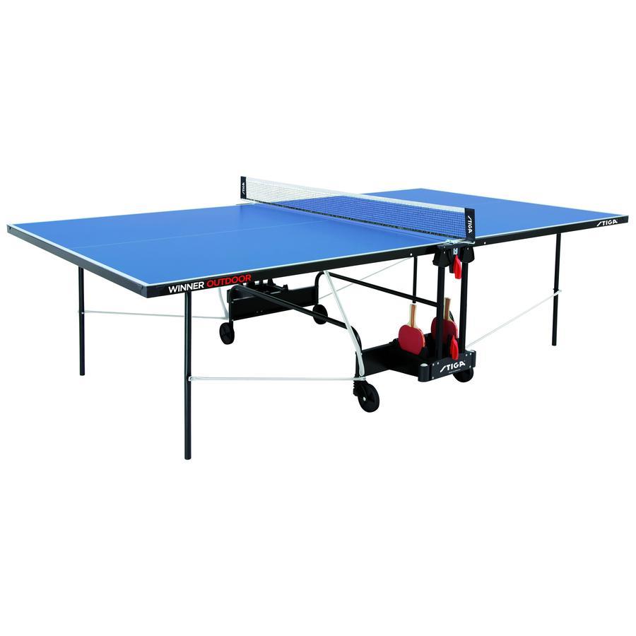 STIGA SPORTS Tischtennisplatte Winner Outdoor mit Netzgarnitur