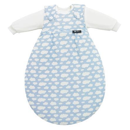 ALVI Baby-Mäxchen Jersey 3 dílný spací pytel obláček modrý