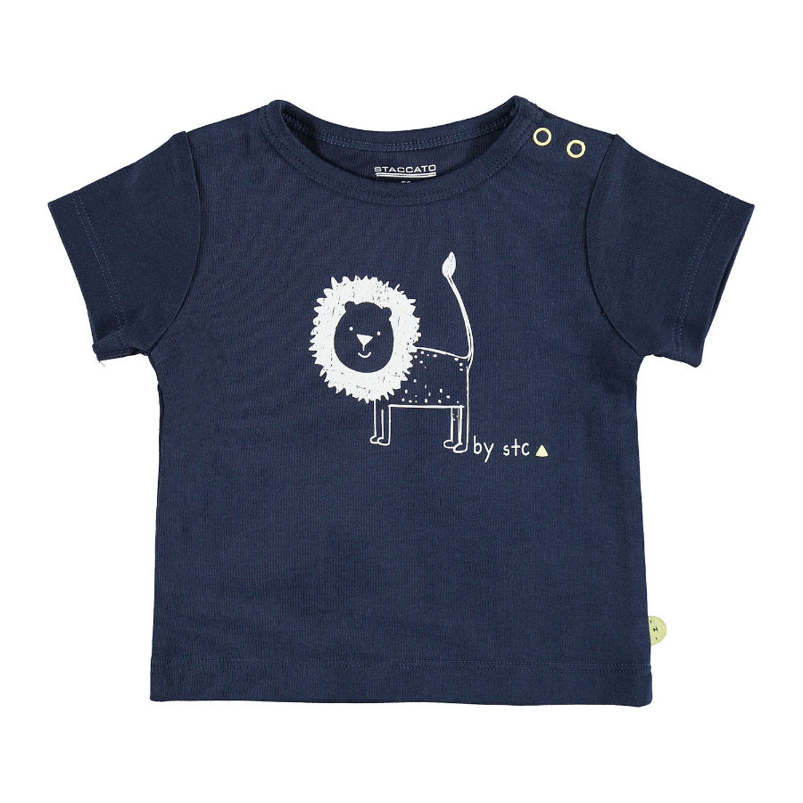 STACCATO Boys T-Shirt bleu foncé