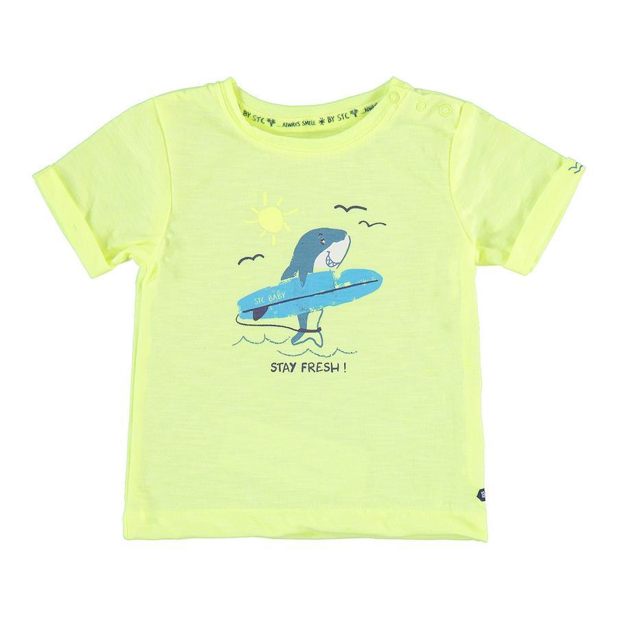 STACCATO Boys T-Shirt neonowe słońce