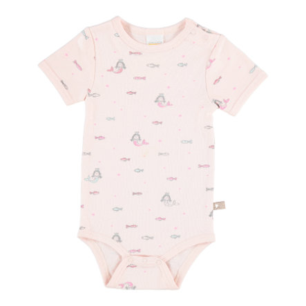 STACCATO Girl s Body 1/2 arm peach patterned Body 1/2 arm