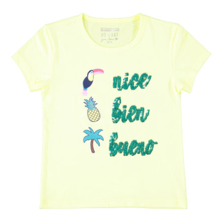 STACCATO Girl s T-Shirt neon geel