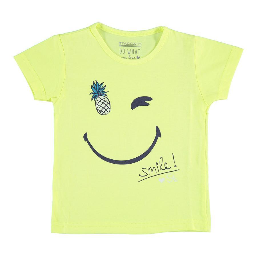 STACCATO Girls T-Shirt neon gelb