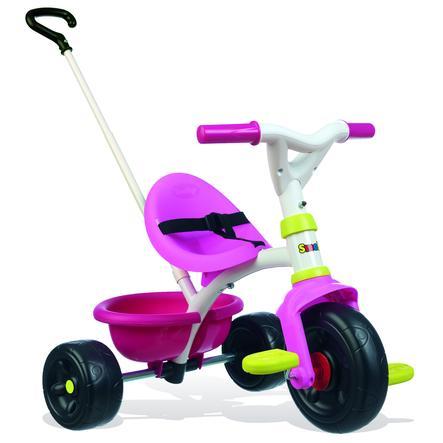 SMOBY Tříkolka Be Fun Pink růžovo zelená SM740322