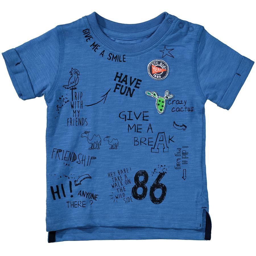 STACCATO Boys T-Shirt oceaanblauw