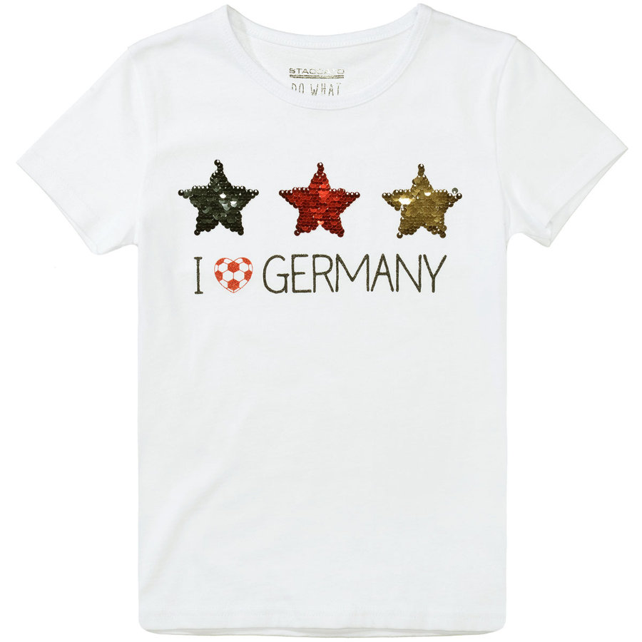STACCATO Girls T-Shirt weiß