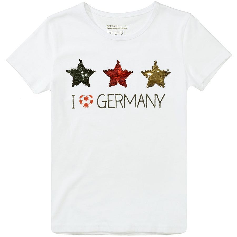 STACCATO Tyttöjen t-paita valkoinen