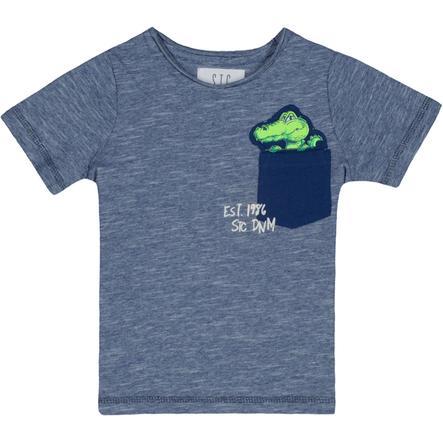 STACCATO Boys T-Shirt tinte struktur slimfit