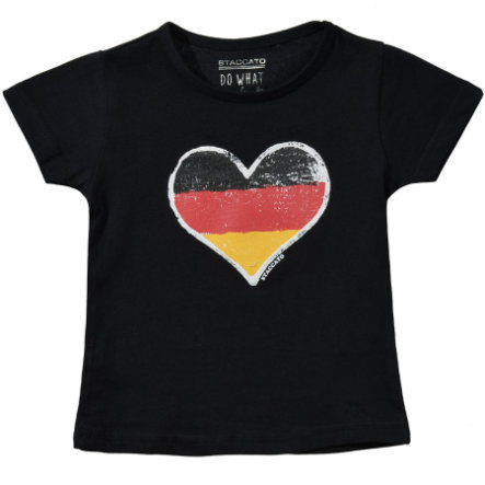 STACCATO Girl T-Shirt Czarny