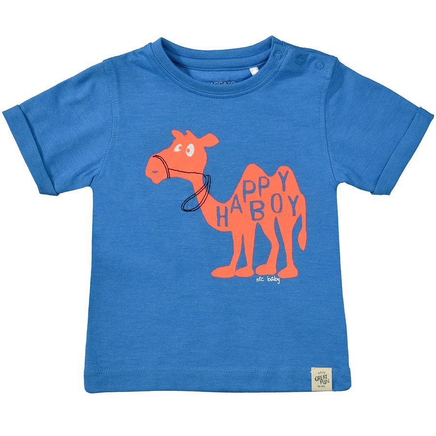 STACCATO Boys T-Shirt azul océano