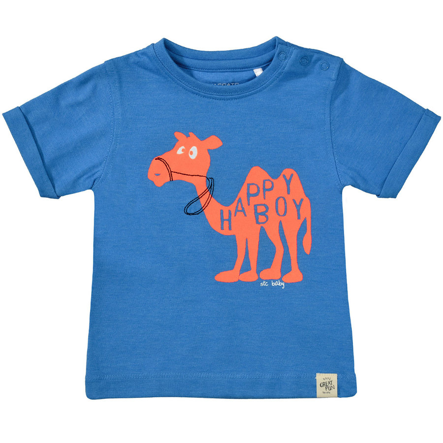 STACCATO Boys T-Shirt ozean blau