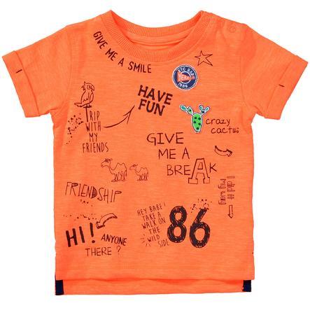 STACCATO Boys T-Shirt neon pomarańczowy