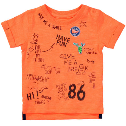 STACCATO Boys T-Shirt orange fluo